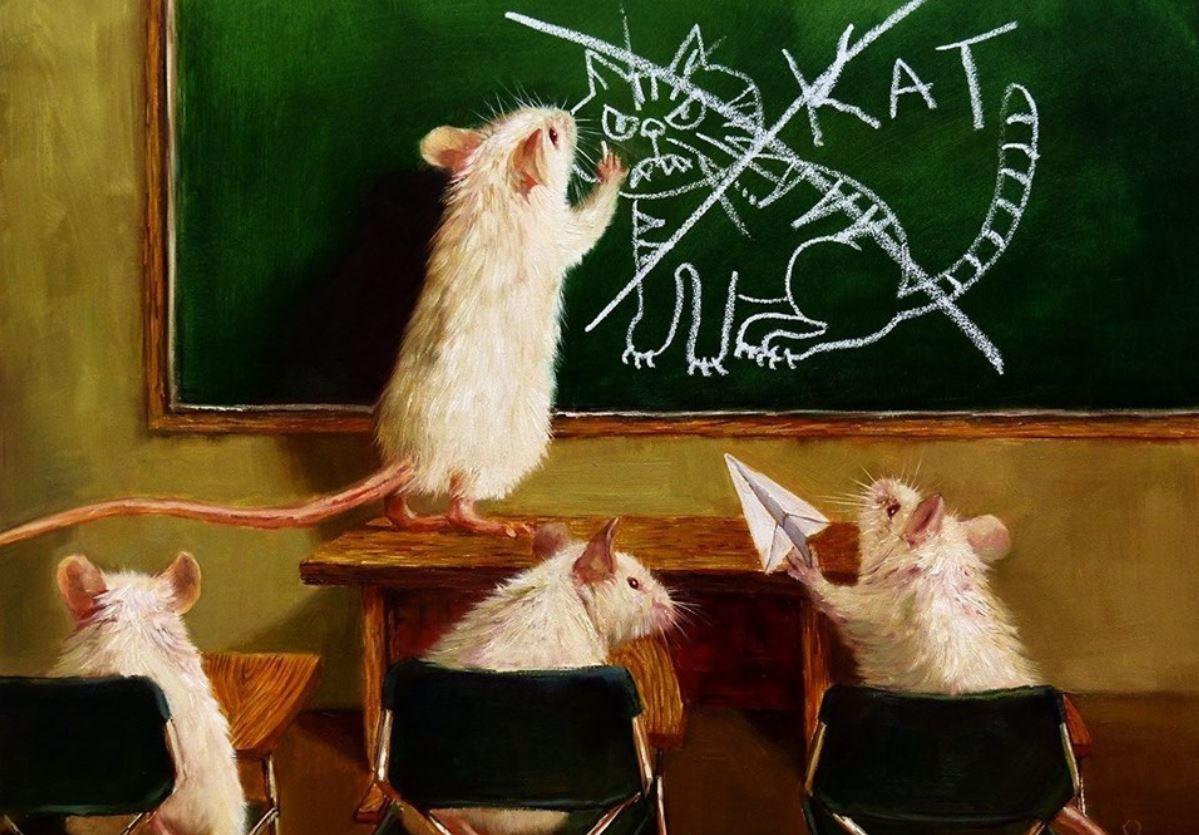 marketing mice school