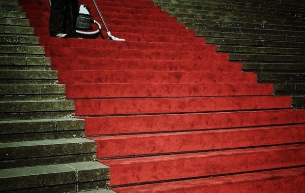 stairs red carpet pr value seo marketing press releases business