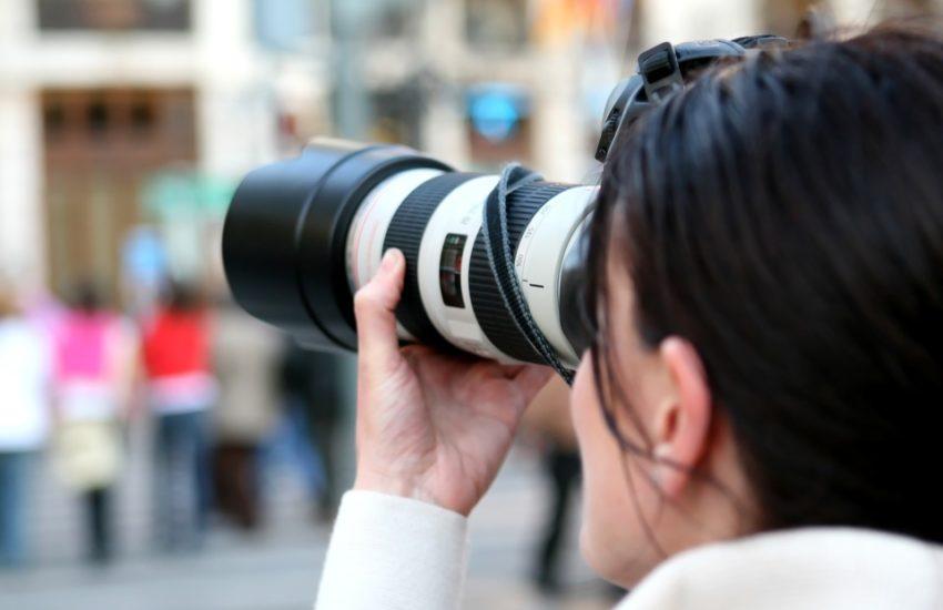 camera how to write press release media pickup