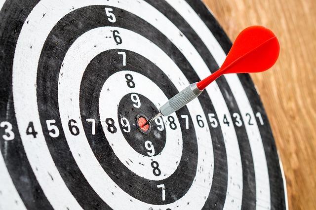 target center goal aim evaluation accuracy